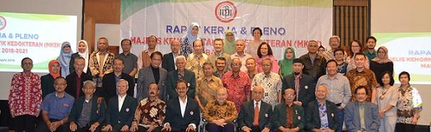 Rapat Kerja dan Pleno MKEK Masa Bakti 2018-2012